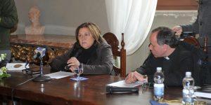 Incontro del vescovo con i Giornalisti. Ospite Lucia Annunziata