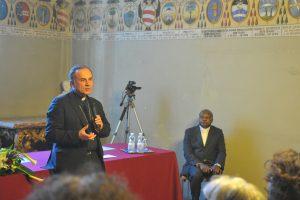 Incontro del vescovo con i sindaci della diocesi di Rieti
