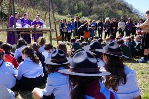 Dieci anni a servizio della Chiesa e della società: gli scout reatini festeggiano l'anniversario