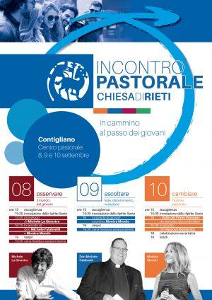 Incontro pastorale 2017 | Locandina e Brochure