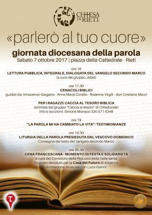 Giornata diocesana della parola | Locandina