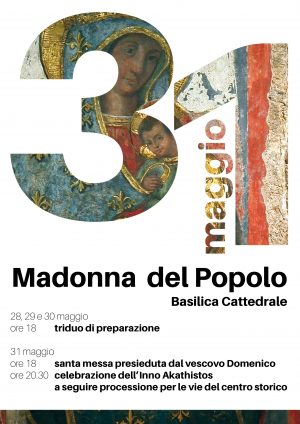 Madonna del Popolo / Locandina