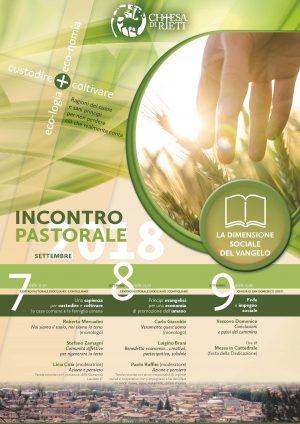 Incontro Pastorale / Locandina e Brochure