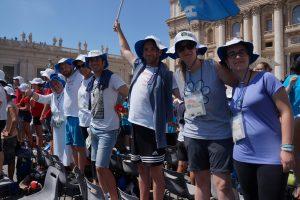 I giovani reatini all'incontro con papa Francesco: «Un indimenticabile sogno del noi»