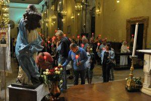 Celebrazione in memoria di padre Massimoliano Kolbe