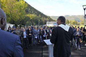 Commemorati i caduti dell'Acquedotto del Peschiera