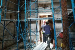 Un salvataggio provvidenziale: in sicurezza la chiesa di Moletano