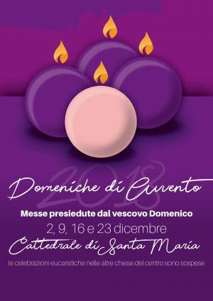 Messe del vescovo in Avvento / Locandina