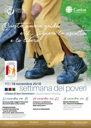 Settimana dei Poveri / Locandina e Brochure
