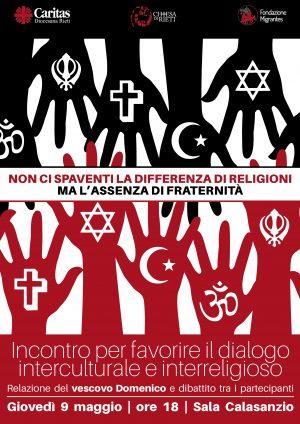 Incontro per favorire il dialogo interreligioso e interculturale / Locandina