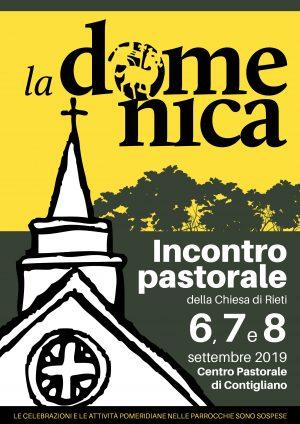 Incontro Pastorale / Locandina e invito
