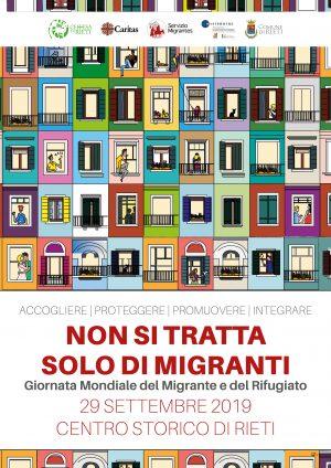 Giornata Mondiale del Migrante e del Rifugiato / Locandina