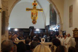 Ottobre Francescano, accesa al santuario di Poggio Bustone la Lampada della Pace