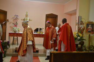 Festa di Santa Lucia, Messa in Ospedale