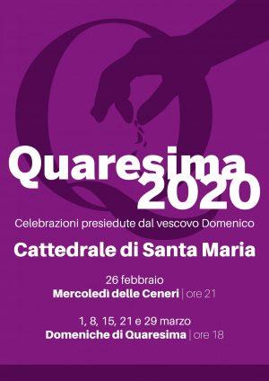 Quaresima 2020 / Locandina