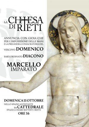 Ordinazione diaconale di Marcello Imparato