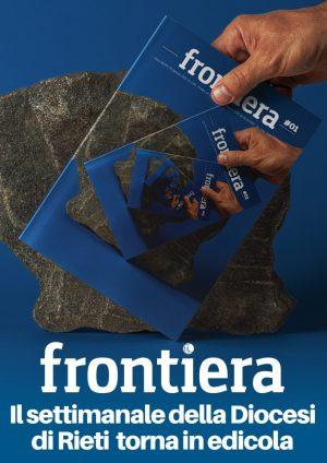 Frontiera torna in edicola / Locandina