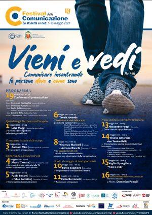 Festival della Comunicazione / Locandina e brochure