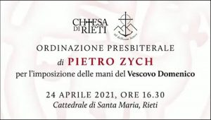 Ordinazione presbiterale di Pietro Zych
