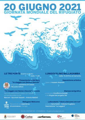 Giornata Mondiale del Rifugiato / Locandina