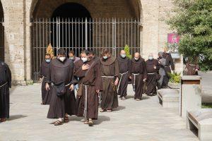 Pellegrinaggio dei Frati minori del Centro Italia a Rieti e Fonte Colombo