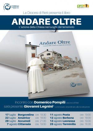 Andare Oltre, presentazione del libro / Locandina