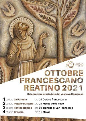 Ottobre Francescano 2021 / Locandina