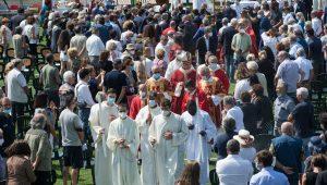 Quinto anniversario del sisma – Omelia in occasione della Messa ad Amatrice
