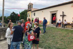 Riaperta la prima chiesa del territorio amatriciano